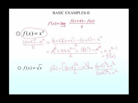 Lecture 6: Differentiation - I (Calculus - Urdu) | Prof. Per