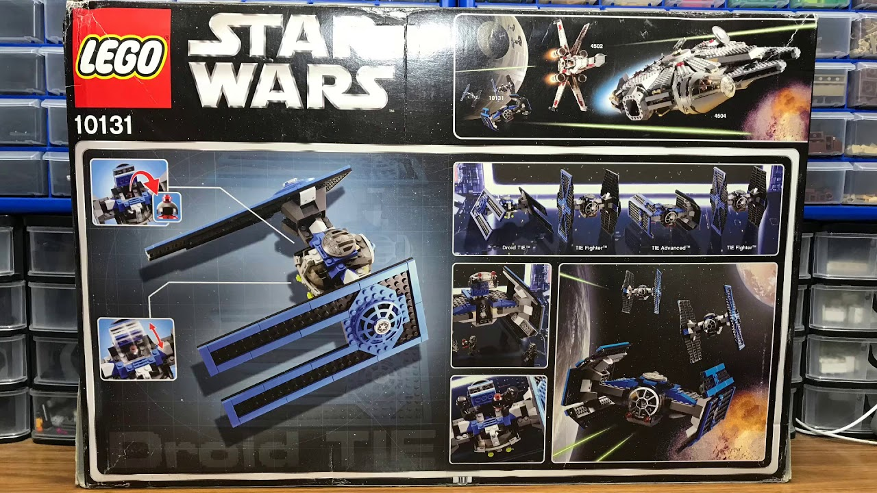 From Set 10131 LEGO Star Wars MiniFigure Droid Brain from TIE//d Fighter