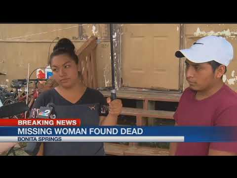 Body of missing Bonita Springs woman found in Imperial River
