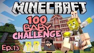 Harry Potter Twins!! | Minecraft 100 Baby Challenge Ep.13