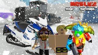 Roblox Indonesia | Snow Shoveling Simulator | Update Baru Mahal Banget!!! 😱