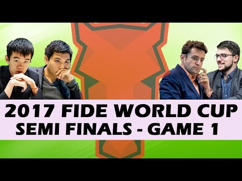 2017 World Cup Semifinals Game 1: Yasser Seirawan & Hansen