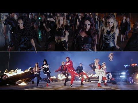 BTS & Little Mix - Salute / Mic Drop (MASHUP)