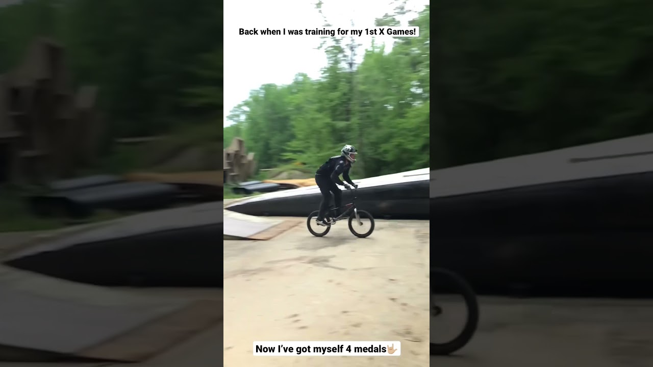 Training for my 1st X Games!