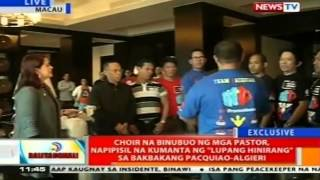 BT: Christian choir, kakanta ng