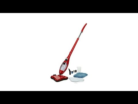 H2O Mop X5 Dual Blast Steam Cleaner with Accessories