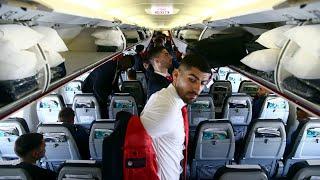 Η πτήση του Ολυμπιακού για τo Λονδίνο! / Olympiacos' flight to London!