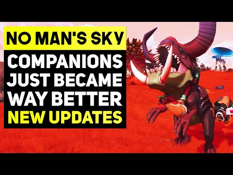 No Man's Sky Companions Just Became Way Better - New Update 3.2.2 Fixes & Big Announcement From Dev! |