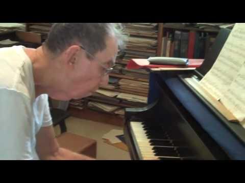 Prof. David Swift playing Chopin, Mazurka