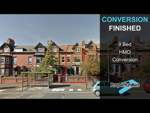 9 Bed HMO Conversion -  A Tour Around [VIDEO 2]