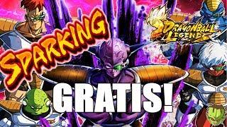 GINYU SPARKING GRATIS!NUEVA CELEBRACION Y MAS COSITAS! /// DRAGON BALL LEGENDS en ESPAÑOL