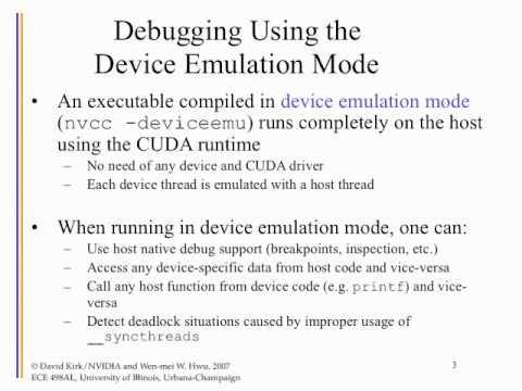 Useful Information on CUDA Tools