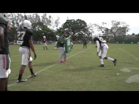 DB Coach | Paul Williams | Mic'd Up | Hitch Tackle Drill