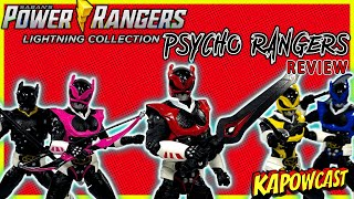 POWER RANGERS LIGHTING COLLECTION PSYCHO RANGERS REVIEW (AMAZON EXCLUSIVE)