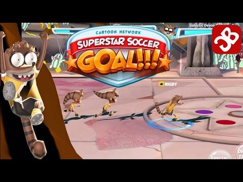 CN Superstar Soccer: Goal – RIGBY'S GOLD TROPHY