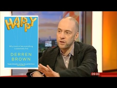 New Derren Brown Book Happy Interview