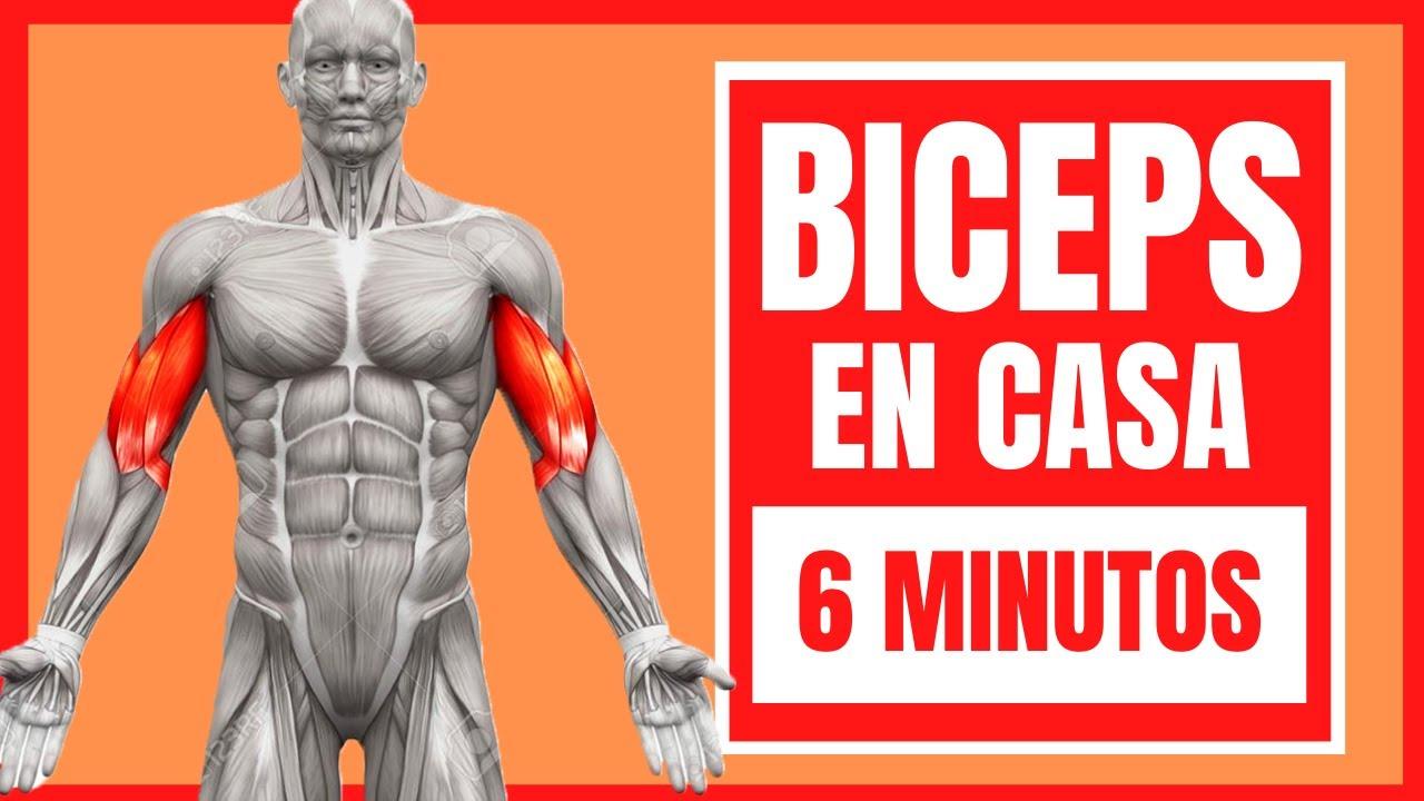 BICEPS(En CASA)🔥 Mejor RUTINA De EJERCICIOS ¡¡SIN Y CON PESAS!! (6 MINUTOS)💪TECNICAS DE LEGENDARIOS*