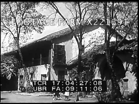 1940, Chile: Natural Resources & Wealthy Family Life 221691-05X | Footage Farm