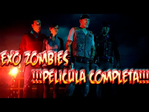 EXO ZOMBIES PELÍCULA COMPLETA (TODAS LAS CINEMÁTICAS) ESPAÑOL | CALL OF DUTY ADVANCED WARFARE