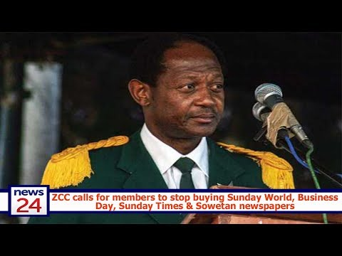 ZCC calls for members to stop buying Sunday World, Business Day, Sunday Times & Sowetan newspapers