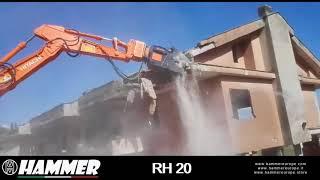 Hammer RH20 in action