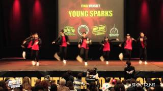 Young Sparks | 10º Lugar Divisão Varsity @ Hip Hop International Portugal 2015 | Finais