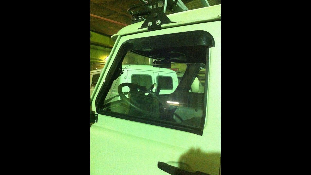 Замена стекла в раздвижном окне. УАЗ 452