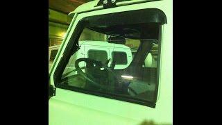 Опускное стекло на УАЗ 452. Сплошное стекло во весь проем двери кабины.(Доброго времени суток. Вашему вниманию представляется способ остекления двери кабины УАЗ 452 и его модифика..., 2014-12-16T07:50:41.000Z)