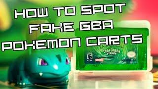 megazeta how to spot fake pokemon gba games