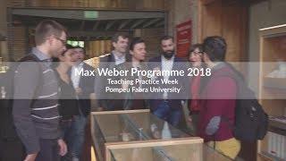 2018 Max Weber Teaching Practice Week thumbnail
