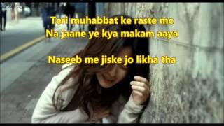 Naseeb main jiske jo likha - Do Badan - Full Karaoke with scrolling lyrics