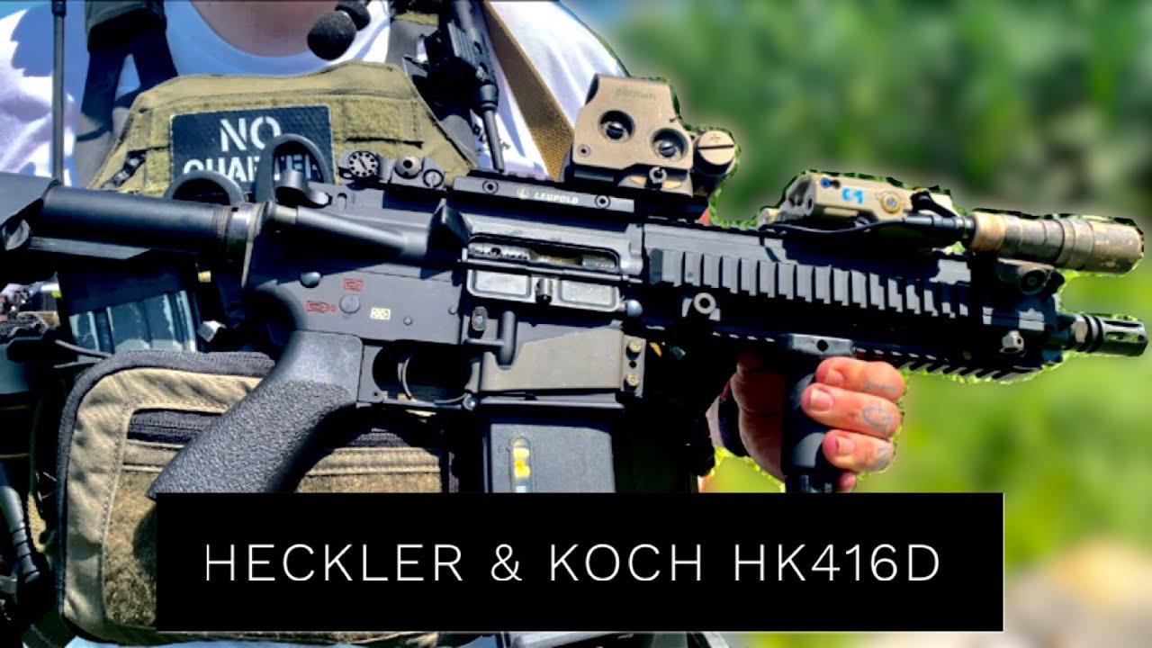 The Heckler & Koch HK416D Rifle
