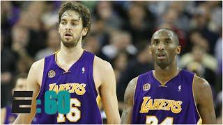 Kobe Bryant and Pau Gasol had an unbreakable bond | E:60