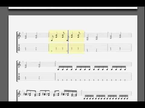 Accept   Fast As A Shark lead guitar tablature