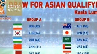World Cup 2018: Draw for third round of Asian qualifying held