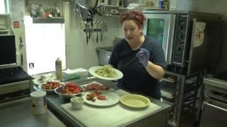 The Cottage Cafe (heirloom Tomato And Vidalia Onion Pie)