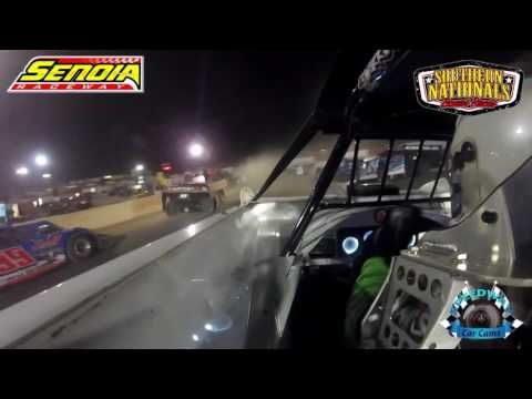 #1G Ryan King - Super Late Model - 11-12-16 - Senoia Raceway - In-Car Camera