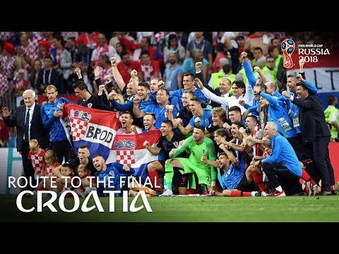 CROATIA - Route To The Final!