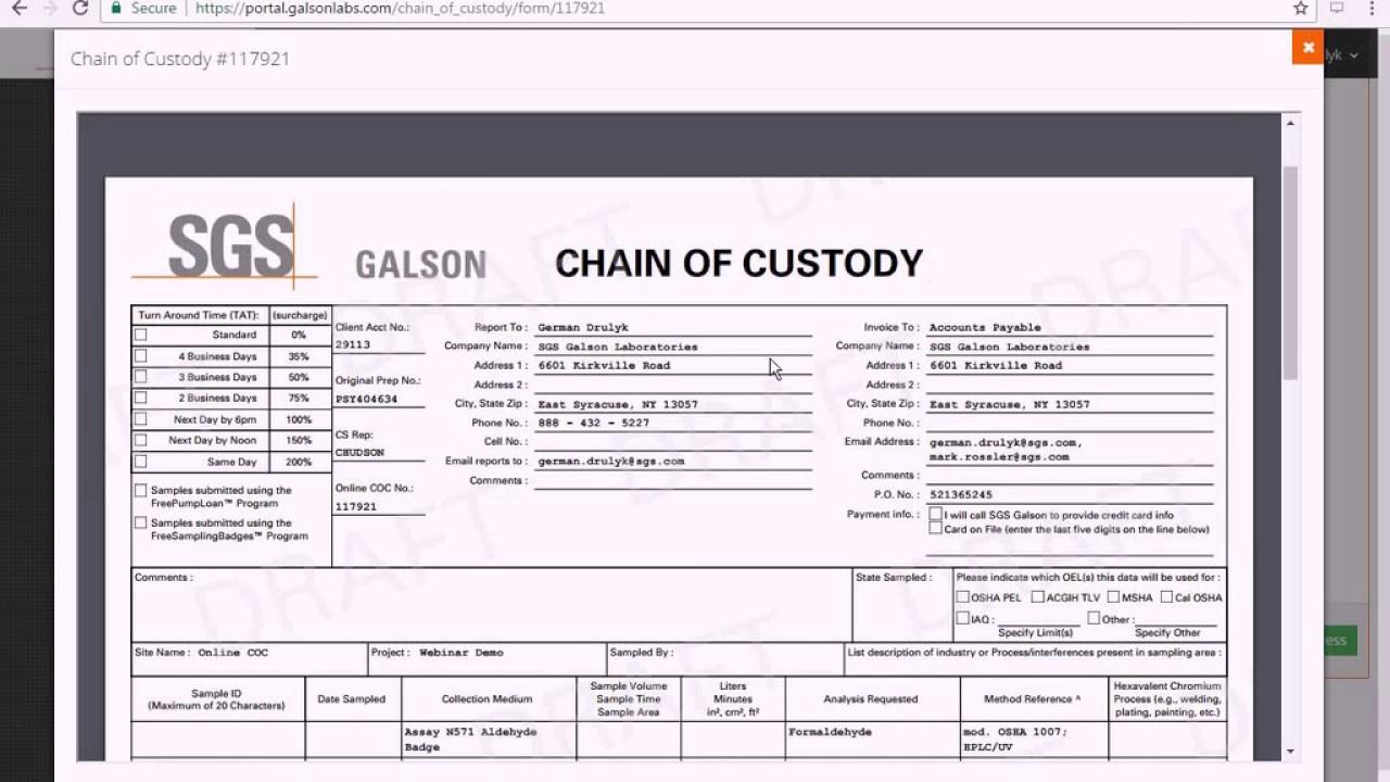 online chain of custody webinar 2 16 17 youtube. Black Bedroom Furniture Sets. Home Design Ideas