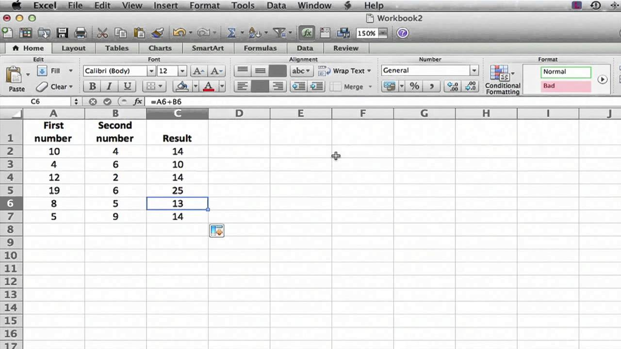 Adding Subtracting Vertical Columns In Excel Ms Excel Tips Youtube
