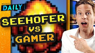 Seehofer vs. Gamer: Die aktuelle Fail-Debatte  | WALULIS DAILY