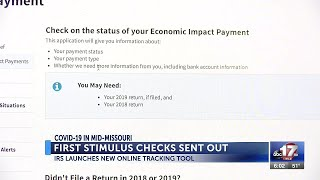 Irs launches new online tool to check on stimulus payments