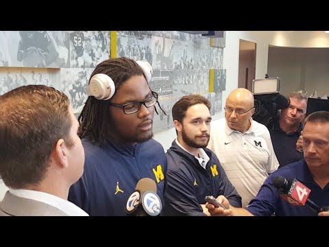 Michigan Week 4: Wolverines DE Rashan Gary on Air Force, Purdue, big hits