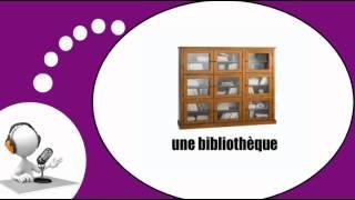 Французского видео урок = Мебель и дом № 1