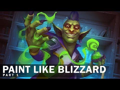 Paint like Blizzard: Part 1