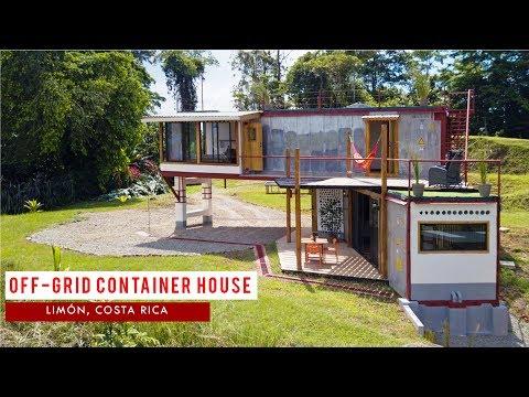 Bio Caribe Container House in Puerto Viejo Limón, Costa Rica