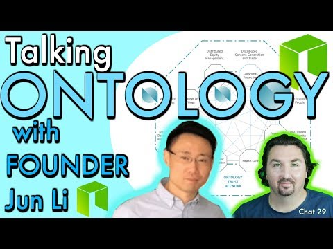Crypto News Exclusive: Interview with Ontology Founder Jun Li with BlockchainBrad NEO ONT ONCHAIN
