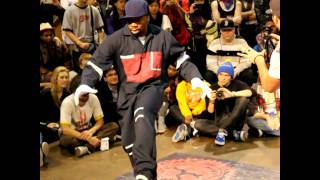 Rashaad and Future vs Kid Boogie and J-Smooth @ 2011 Juste Debout NYC Poppin Finals