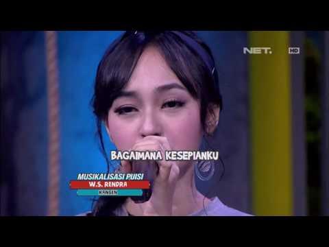 """Musikalisasi Puisi Indah Kusuma Dengan Lagu """"Kangen"""" W.S. Rendra"""
