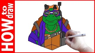 How to draw movie ninja turtles Donatello, Как нарисовать черепашку ниндзя(INSTAGRAM: https://www.instagram.com/dmitrysyrman/ Я в ВКОНТАКТЕ: http://vk.com/syrman_d Группа в ВКОНТАКТЕ: http://vk.com/public59608073 I'm on ..., 2016-12-14T05:24:10.000Z)